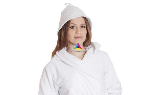 Банная шапка махровая