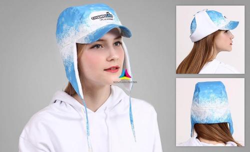 шапка ушанка для примерка